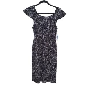 Old Navy Black and White Dress NWT